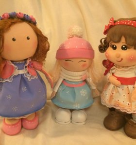 Куколки будуарные