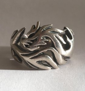 Кольцо Мужское размер 19-20 (Серебро 925 проба)