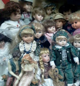 Куклы фарфоовые