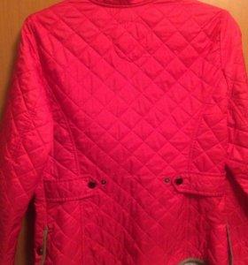 Тонкая стёганная куртка