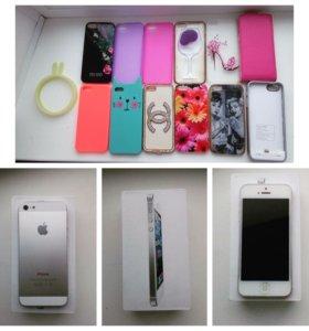 Продаю iPhone 5 64gb торг