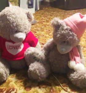 Мишки Тедди 45 и 50см