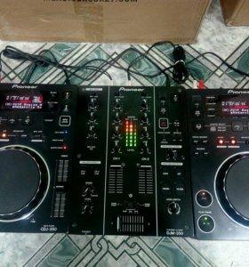 Pioneer CDJ DJM CDJ 350 Комплект