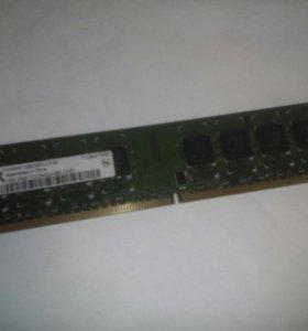 Оперативная память DDR 2 ,1Gb