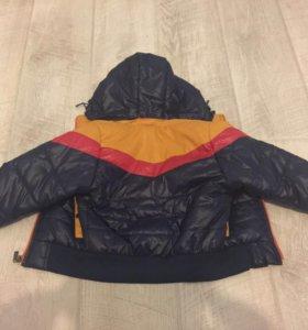 Куртка детская на мальчика весна-осень.