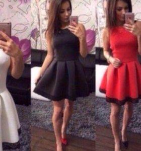 Платье в наличии коричневое