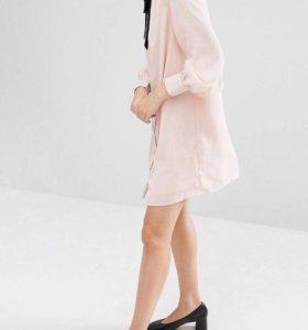 Новое платье ( как шифон, только плотный)