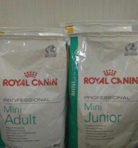 15 кг Корм для собак Royal Canin (Mini, X-small)