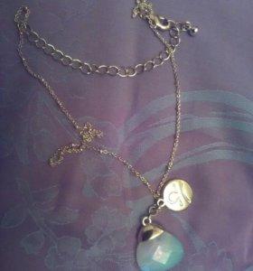 Цепочка с подвеской Весы и лунным камнем Avon