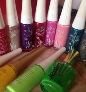 Лаки для рисования на ногтях