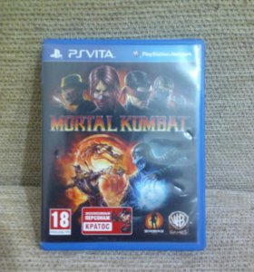 Игра на Ps vita. Mortal kombat.