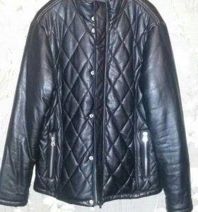 Куртка мужская кож.зам.