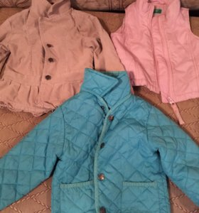 Куртка, пиджак, безрукавка
