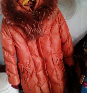 Продам зимнюю куртку ( пуховик)