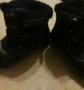 Обувь зимняя б/у