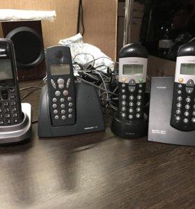 Радио телефоны 6 шт