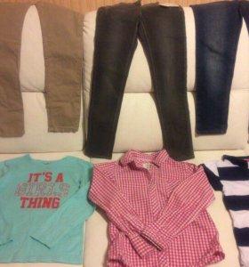 Одежда для девочек 6-7 лет