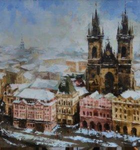 """Картина """"Прага"""""""
