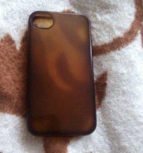 Чехол на iphone 4 силикон