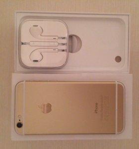  iPhone 6 , 64 гб , золото