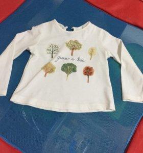 Кофта /футболка Zara