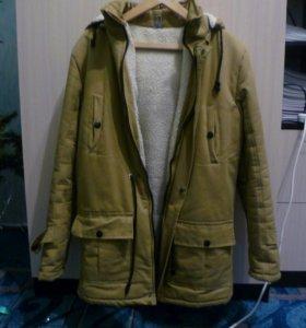 Куртка-парка (немного б/у)