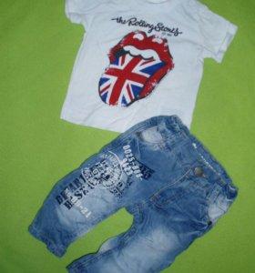 Фирменые джинсы