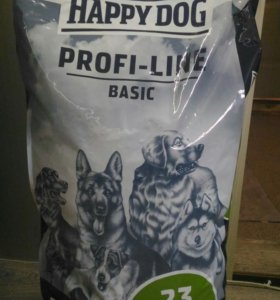 Сухой корм для собак-Happy Dog Basic