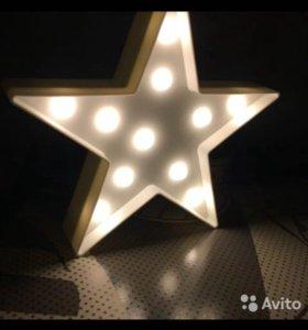 Лампа ночник новая стильная