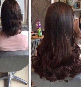 Волосы тон6 для наращивания