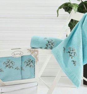 2 цвета полотенца