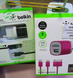 Сетевое зарядное устройство belkin с проводом