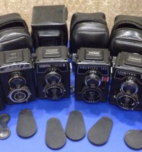 Коллекция Советских фотоаппаратов Любитель!