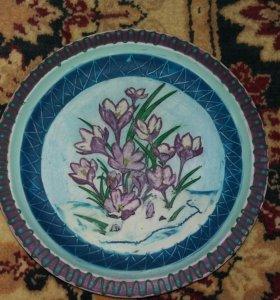 Декоративные тарелочки на стену