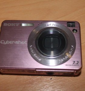 Цифровой фотоаппарат Sony Cyber-shot DSC-W120