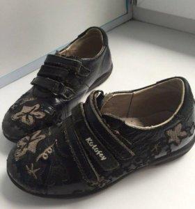 Туфли для девочки размер 27