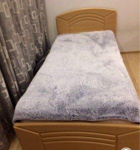 Кровать+ матрац 90- 200