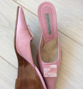 Туфли и сумка, кожа Италия