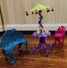 Набор мебели для кукол Monster High