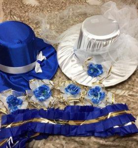 Шляпы на свадебный автомобиль