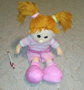 Большая мягкая кукла, 60 см