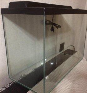 Аквариум и оборудование для водной черепахи