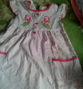 Новое платеце на девочку