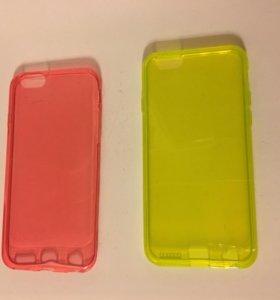 Чехлы на iPhone 6 силиконовые