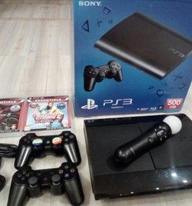 PS 3 superslim 500гб