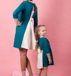 Платья мама/дочка.