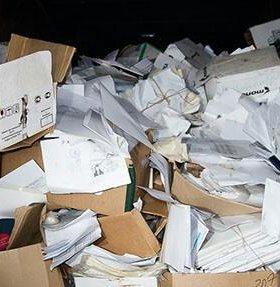Вывоз архивов офисной бумаги