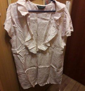 Блузка вискоза большой размер