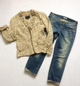 Пиджак 48-50 размер Состояние нового