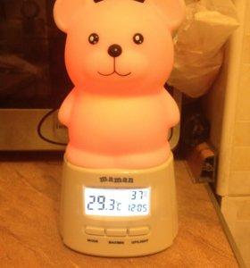 Детский ночник медвежонок